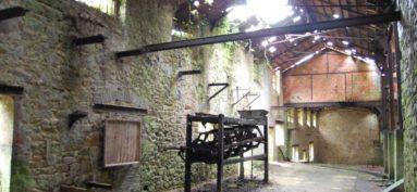 Les anciennes mines de Vaulry